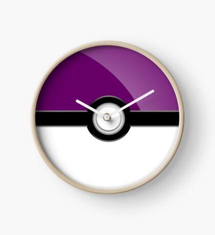 Poke´ Ball - Purple Clock