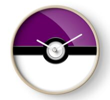 Poke´ Ball - Purple Clock