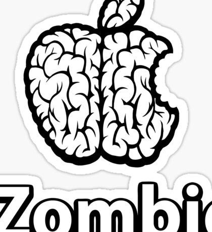Apple iZombie -white- Sticker