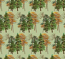 Forest Pattern by Tessa Riley