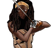 Michonne by morganajones