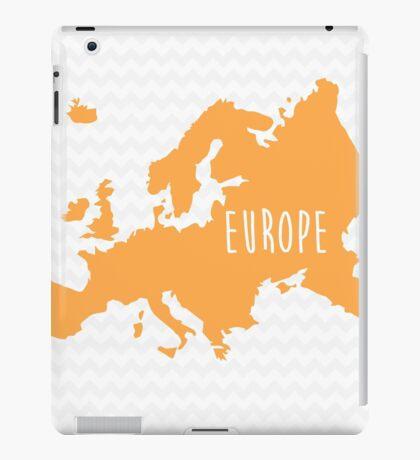 Europe Chevron Continent Series iPad Case/Skin