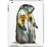 Winter Woodchuck iPad Case/Skin