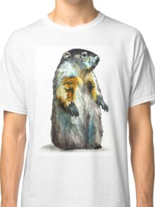 Winter Woodchuck Classic T-Shirt