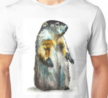 Winter Woodchuck Unisex T-Shirt