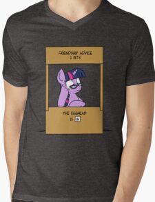 Friendship Advice Mens V-Neck T-Shirt