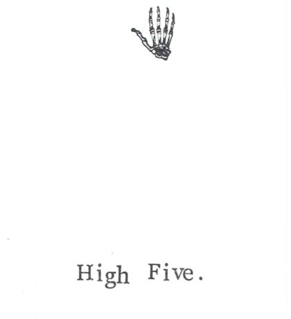 High Five Sticker