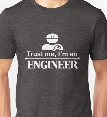 Funny Collection. Engineer T-Shirt Unisex T-Shirt