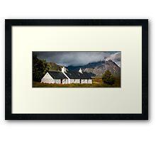 Glencoe House Framed Print