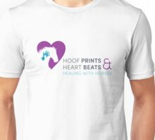 Hoof Prints and Heart Beats -- Color Unisex T-Shirt