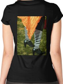 The Wind and the Witch's Knickers Women's Fitted Scoop T-Shirt