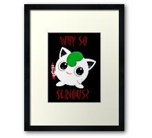 Why So Pokemon Framed Print