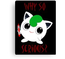 Why So Pokemon Canvas Print