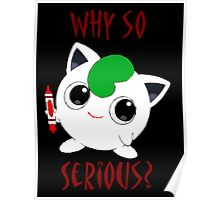 Why So Pokemon Poster
