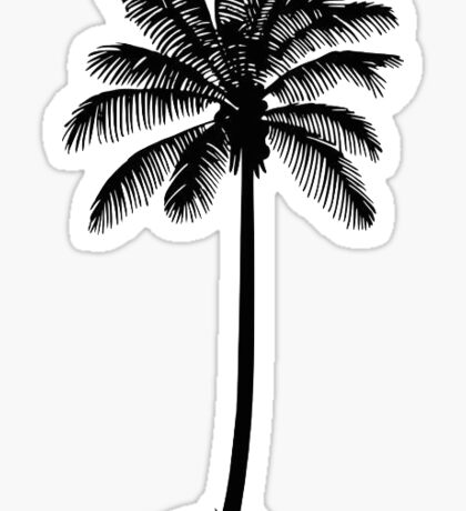 Palm Tree Silhouette Sticker