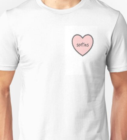 Softies (heart) Line Unisex T-Shirt
