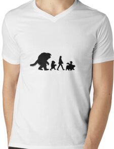 Labbeyrinth Road Mens V-Neck T-Shirt