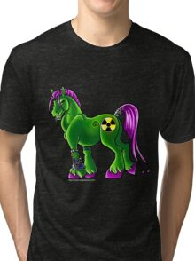 Radioactive Pony Tri-blend T-Shirt