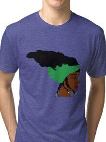 Hair Jamaica Tri-blend T-Shirt