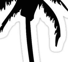 Palm Tree Silhouette Sticker
