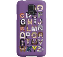 Horror Icon Alphabet Samsung Galaxy Case/Skin