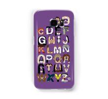 Horror Icon Alphabet Samsung Galaxy Case/Skin
