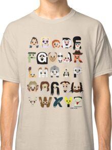 Horror Icon Alphabet Classic T-Shirt
