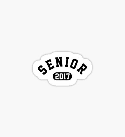 Senior 2017, Class of 2017 Sticker