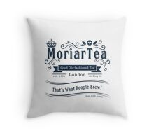MoriarTea 2014 Edition Throw Pillow