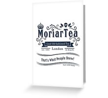 MoriarTea 2014 Edition Greeting Card