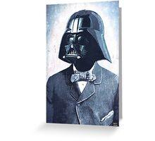Formal Vader Greeting Card