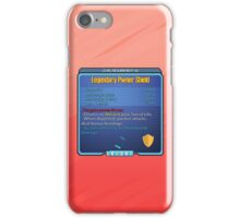 Legendary Pwner Shield iPhone Case/Skin
