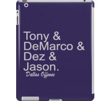 Dallas Offense iPad Case/Skin