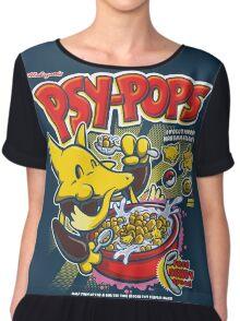 Psy-Pops Chiffon Top