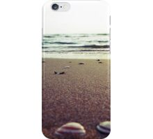 Shells on Beach iPhone Case/Skin