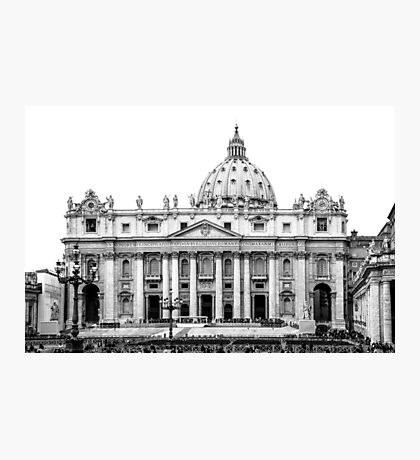 St Peter's Basilica Photographic Print