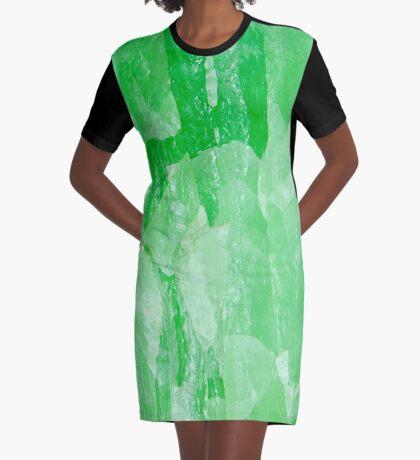 Jade Stone Texture – Graphic Tee Dress Graphic T-Shirt Dress