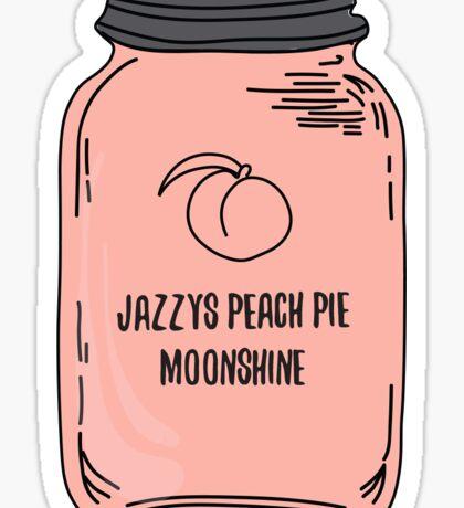 Jazzy's Peach Pie Moonshine Sticker