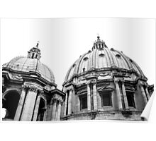St Peter's Basilica Dome Poster