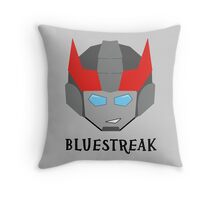 Bluestreak Throw Pillow