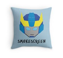 Smokescreen Throw Pillow