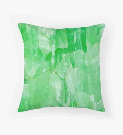 Jade Stone Texture – Pillows & Tote Bags Throw Pillow