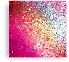 Rainbow Glitter Canvas Print