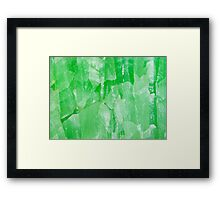 Jade Stone Texture – Prints & Posters Framed Print