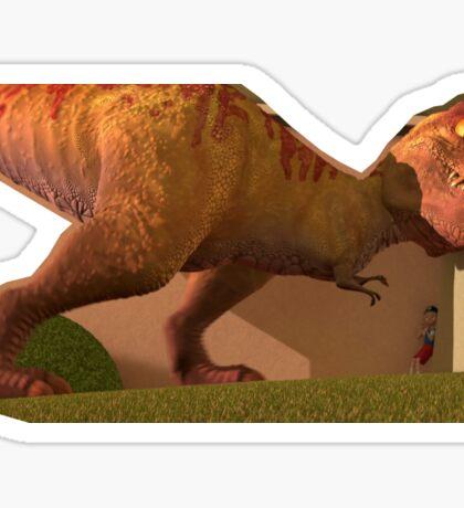 T Rex - Meet the Robinsons Sticker