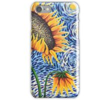 Starry Sunflowers iPhone Case/Skin