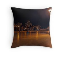 public park Throw Pillow