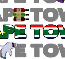 Cape Town, Cape Town, Cape Town Sticker