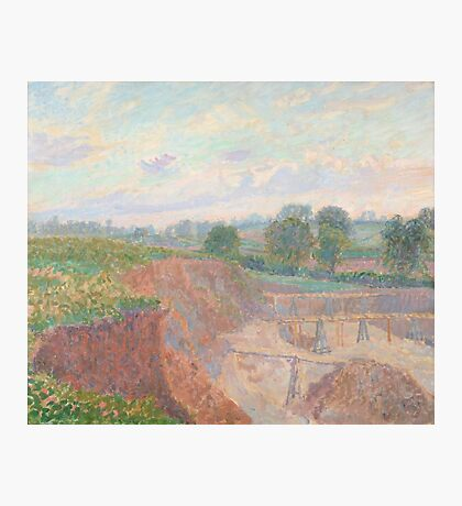 Spencer Frederick Gore  The Earthworks (or The Sandpit), Photographic Print