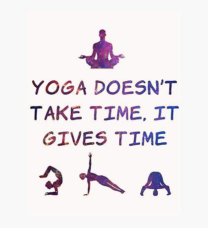 Yoga #2 Photographic Print